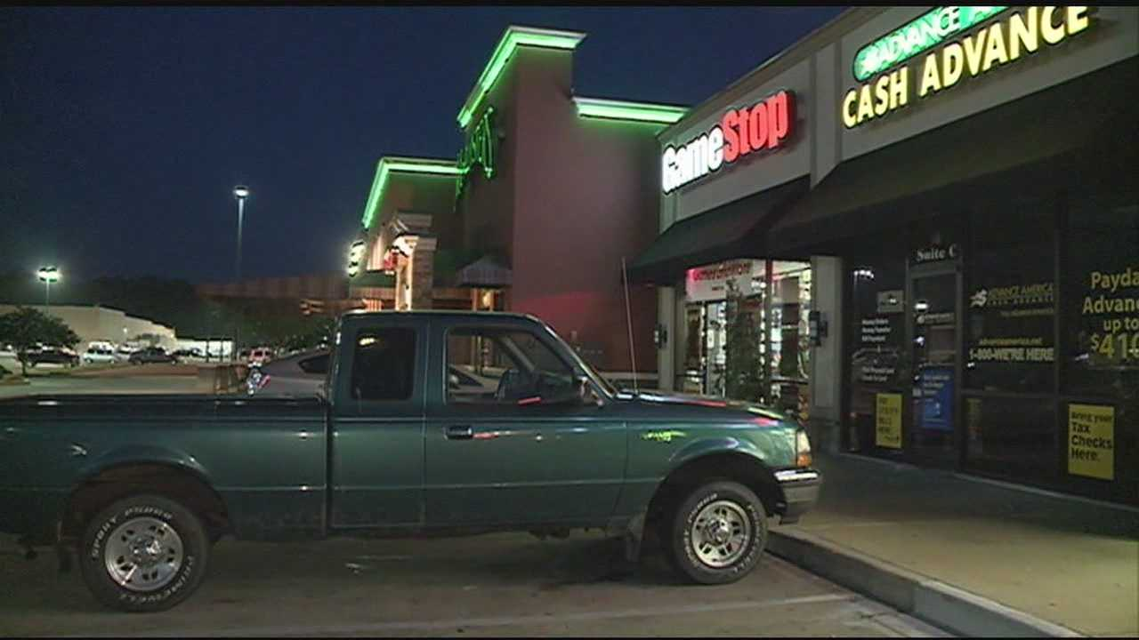 Richland Police investigating a rash of burglaries to three businesses in a shopping center.