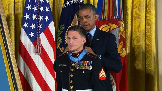 Kyle Carpenter medal of honor