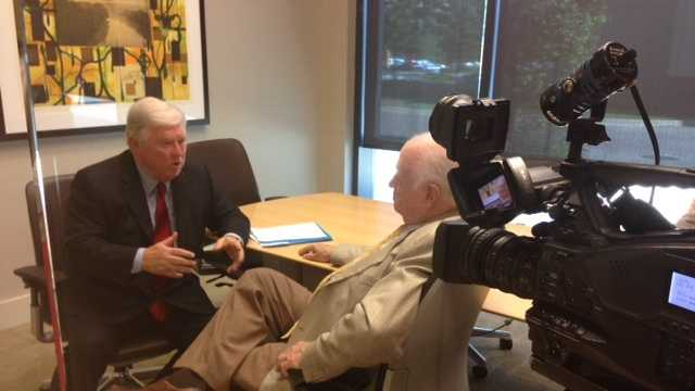 16 WAPT's Bert Case sits down for an interview with former Gov. Haley Barbour.
