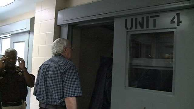 The sheriff says the $8 million in improvements include new locks on the jail cells and a new ceiling.