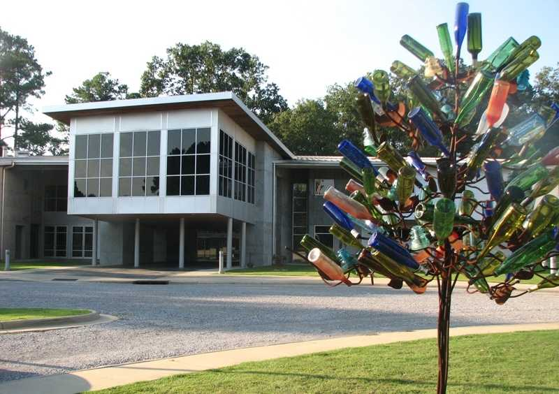 Mississippi Crafts Center, which is actually in Ridgeland.