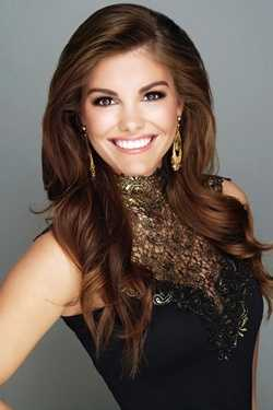 Miss Riverbend LeighAnn Pacific. The Laurel native attends Mississippi State University.