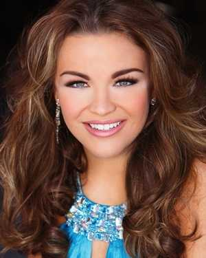 Miss Southern Heartland Meredith Thomas. The Kosciusko native attends Mississippi State University.
