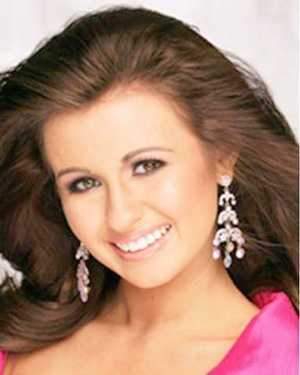 Miss Northridge Michaela Moore. The Biloxi native attends Mississippi State University.