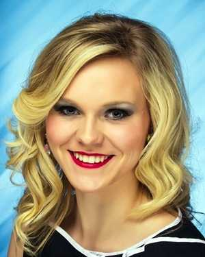 Miss Heritage Nikki Fauver. The Pontotoc native attends Mississippi State University.