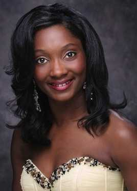 Miss Hinds Community College Porsha Gatson. The Vicksburg native attends HCC.