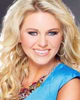 Miss Historic South Randi-Kathryn Harmon. The Amory native attends Mississippi State University.