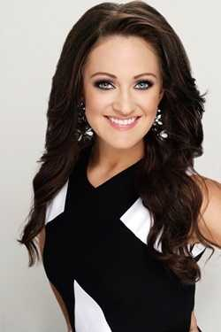 Miss University Anna Beth Higginbotham. The Hattiesburg native attends the University of Mississippi.