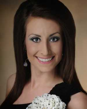 Miss Southern Magnolia Ashley Barding. The Petal native attends William Carey University.