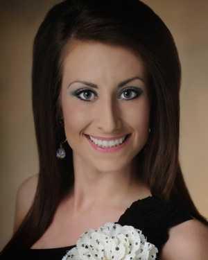 Miss Southern Magnolia Ashley Barding. The Petal native attends William Carey University.