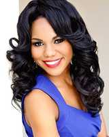Miss Delta State University Briana Sturgis. Her hometown is Jackson. She attends Delta State University.