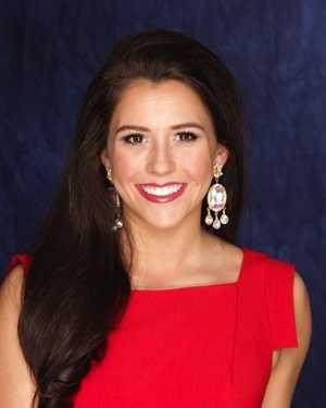 Miss Deep South Caroline Conerly. The Hattiesburg native attends the University of Mississippi.