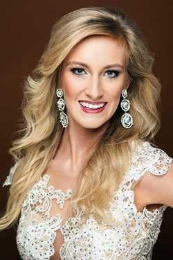 Miss Heart of the South CeCe Hillman. The Union native attends Mississippi State University.