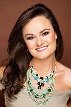 Miss Pontotoc Emily Hall. The Tupelo native attends the University of Mississippi.