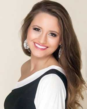 Miss Southland India Byrd. The Florence native attends Mississippi State University.