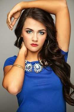 Miss Central Mississippi Jade Dalton. The Flora native attends Hinds Community College.