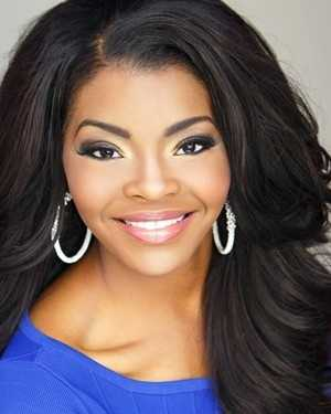 Miss Riverland Jasmine Murray. The Columbus native attends Mississippi State University.