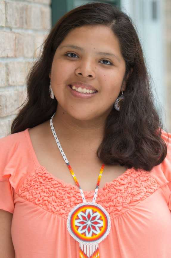 Cristen Jim is the 18-year-old daughter of Lisa Charlie of the Tucker community. A recent graduate of Choctaw Central High School, Cristen plans to attend Haskell Indian Nations University this fall. She is sponsored by the Tucker Development Club.