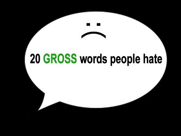 Are there words in the English language you just can't stand? Click here for 20 words people hate to say.