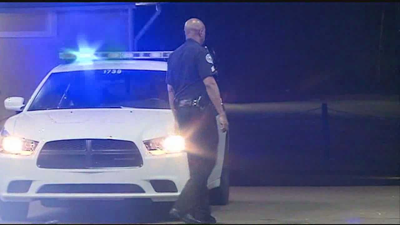Jackson police were looking for a shooting victim early Wednesday morning who walked into a gas station then disappeared.