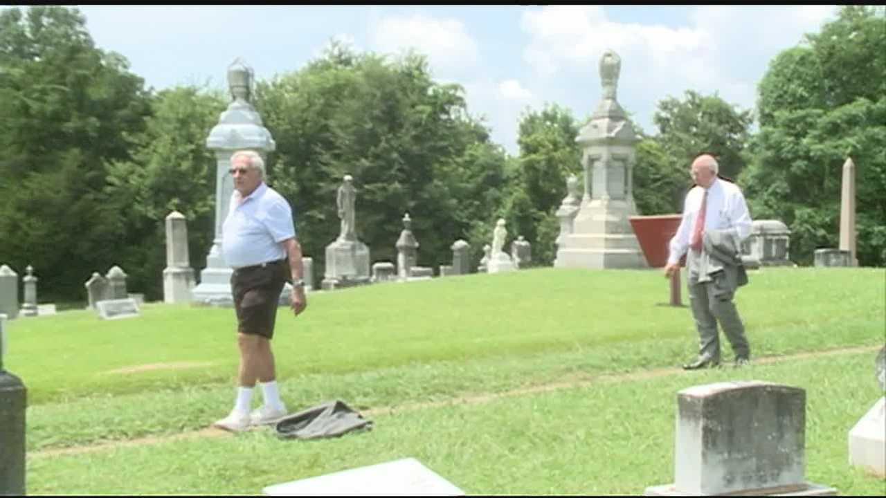 Vicksburg Jewish cemetery 1