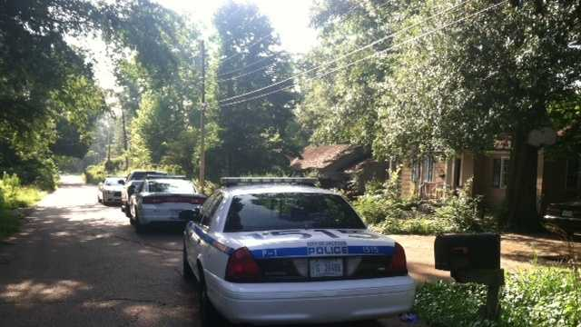Grandview Circle burglary scene