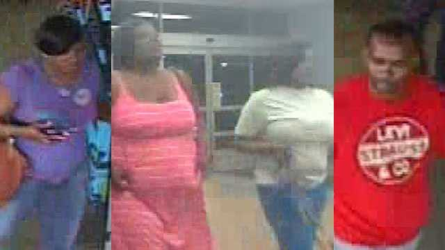 If you can identify any of these people, Vicksburg police ask that you call Crime Stoppers at 601-355-TIPS.