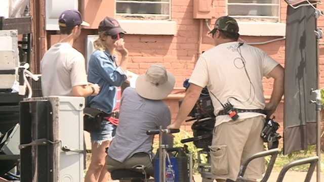 Filmmakers are also shooting scenes in Brookhaven and Jackson.