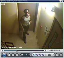 """Police have dubbed the suspect the """"Cookie Monster"""" because cookies and other food items were stolen from the Holiday Inn Express."""