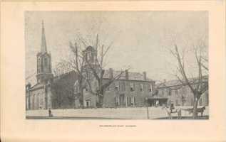 The original campus of Chamberlain-Hunt Academy, 1898.