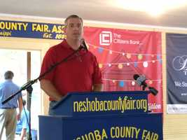 Politicians from across Mississippi take the stage at the Neshoba County Fair, including Speaker of the House Philip Gunn.