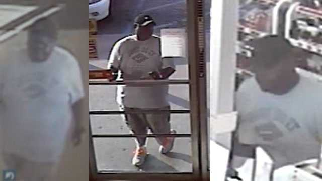Brandon police are trying to identify this man, who is wanted in an auto burglary case.