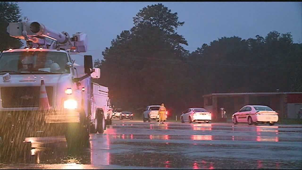 Highway 49 in Rankin County reopens after downed power lines forced it to close overnight.