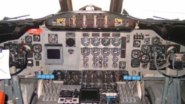 Hurricane hunter cockpit