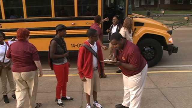 JPS students head back to school