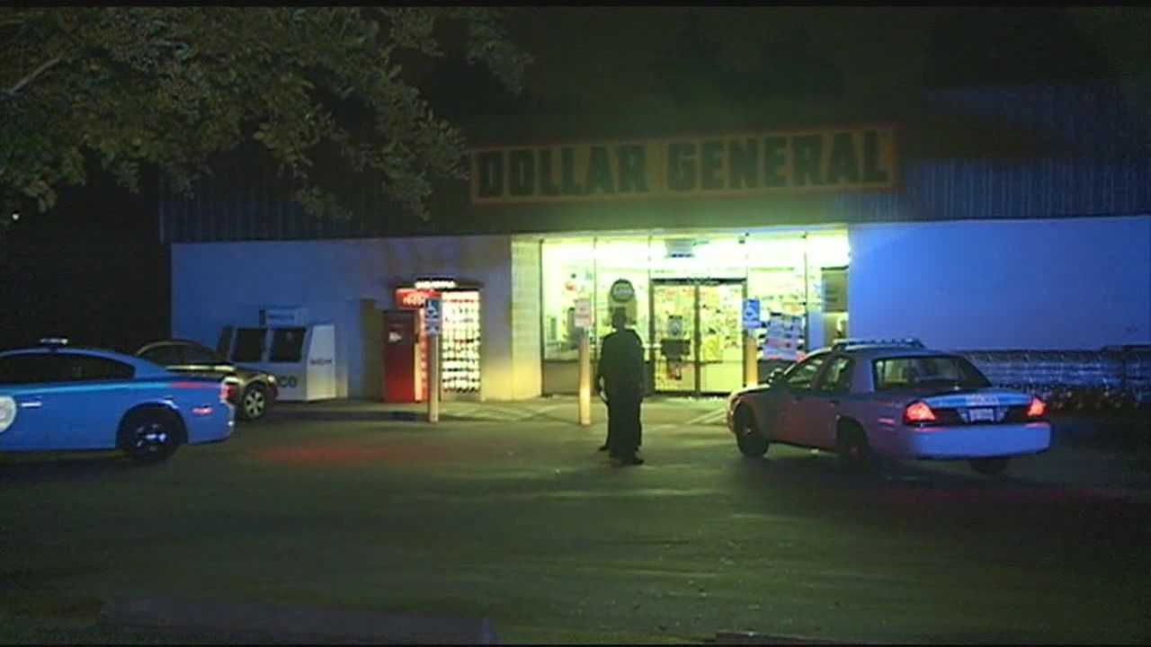 Dollar General candy theft