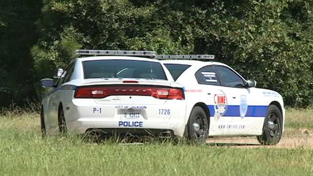 Jackson police cars