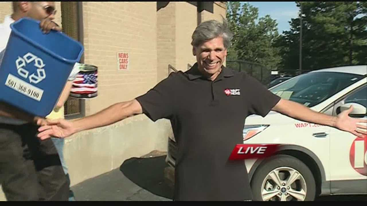 16 WAPT's own General Manager Stuart Kellogg takes on the Ice Bucket Challenge.