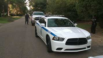 A Jackson woman called police after she found an intruder in her house.