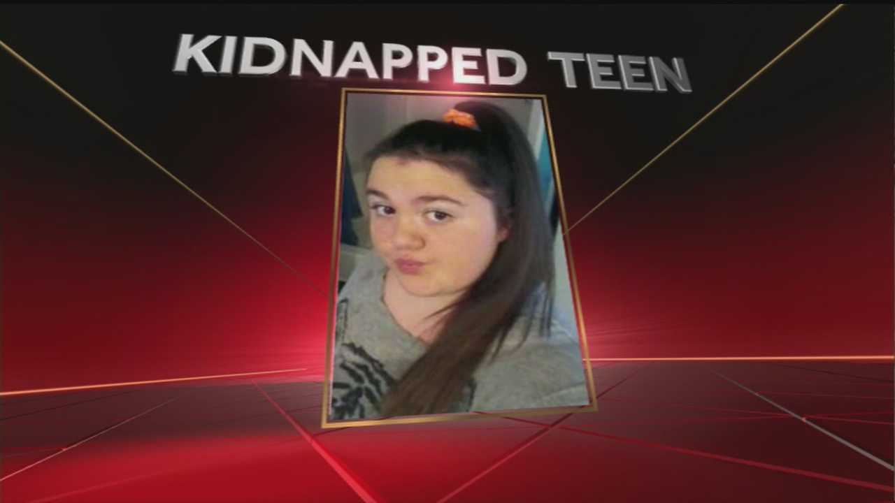 Crews are back-out searching for a missing-girl *they believe* was kidnapped.