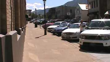 Downtown Glenwood Springs, Colo.