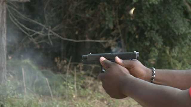 Firing gun, pistol