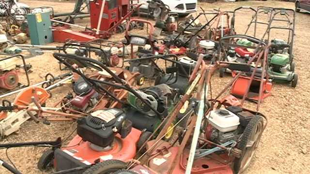 More than 300 items and 250 vehicles will be on the auction block.