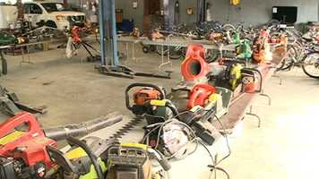 The city of Jackson on Saturday will auction off items from the JPD evidence and recovery unit.