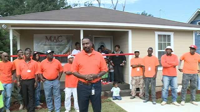 MAC Construction pitched in with the help of some other companies and built a new house for Johnson and her family.