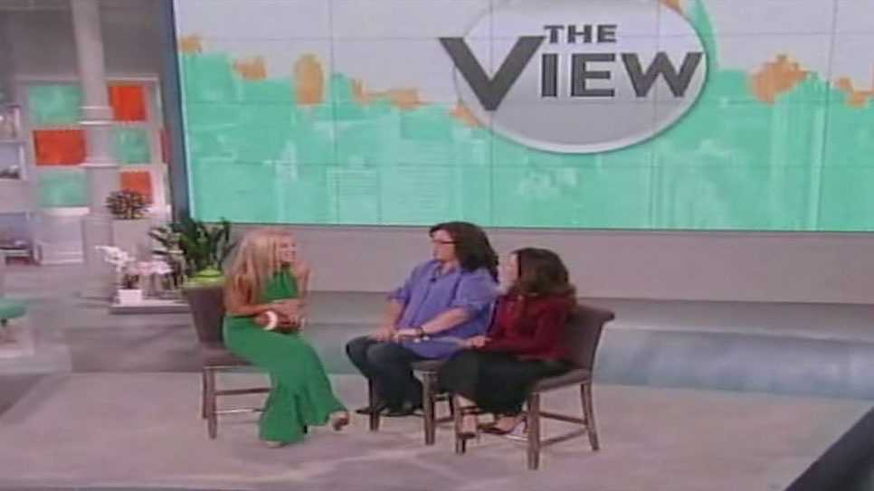 "South Jones High School's Mary Kate Smith taped a segment for ""The View,"" which will air Friday on 16 WAPT."