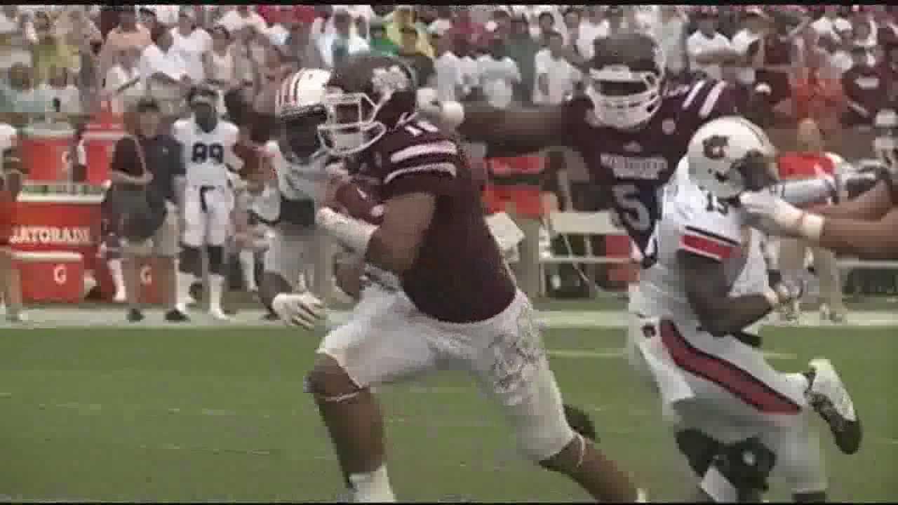 (2) Auburn 23, (3) Mississippi State 38