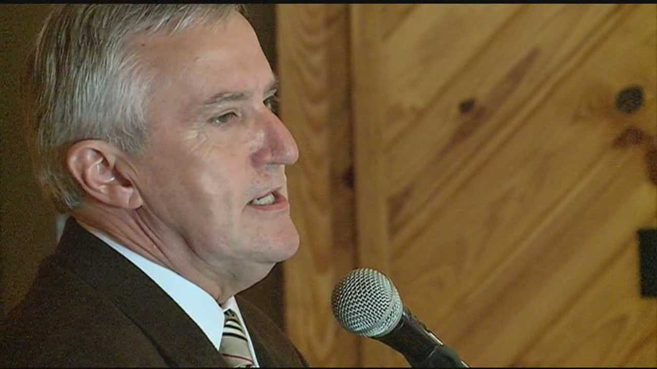 Democrat Travis Childers is running for U.S. Senate.