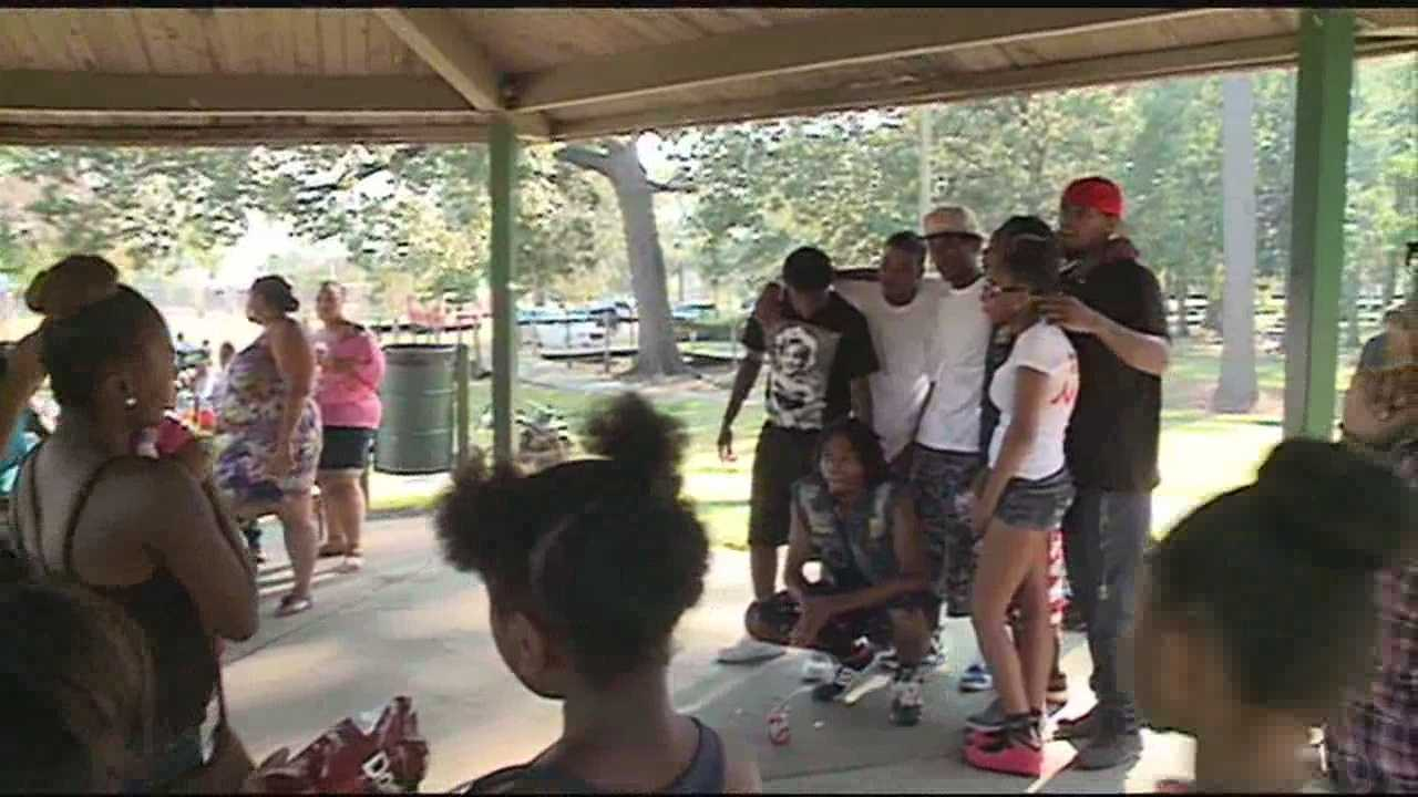 People in Jackson remembered two murdered young men.