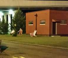 The McComb clown's latest sighting was at Whispering Pines Casino.